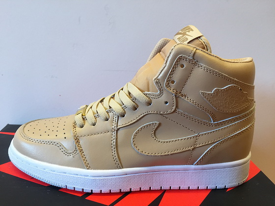 Air Jordan 1 Retro Shoes Khaki